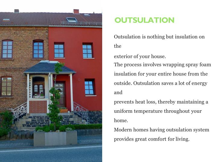 OUTSULATION