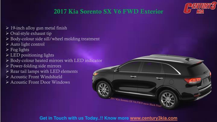 2017 Kia Sorento SX V6 FWD Exterior