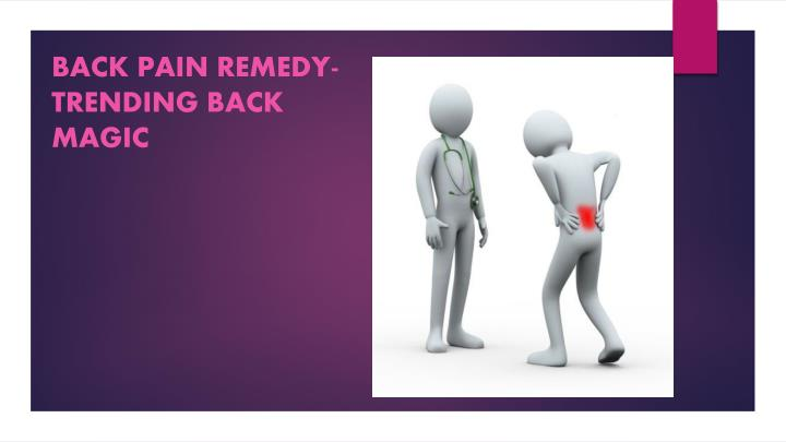 Back pain remedy trending back magic