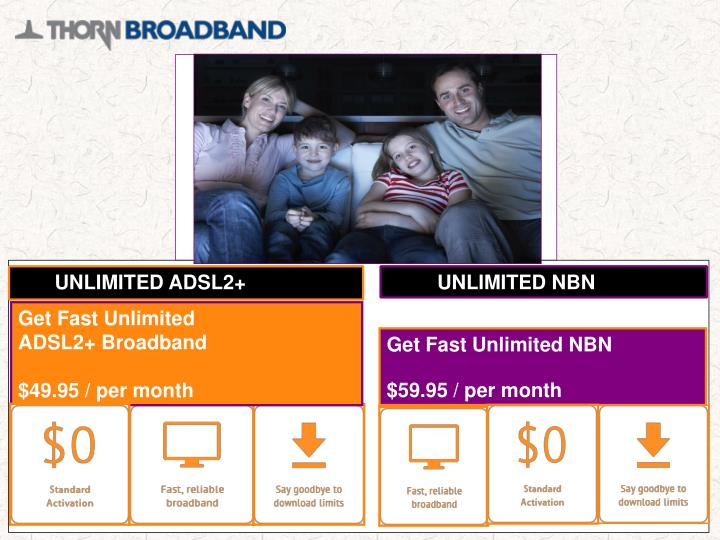 UNLIMITED ADSL2+