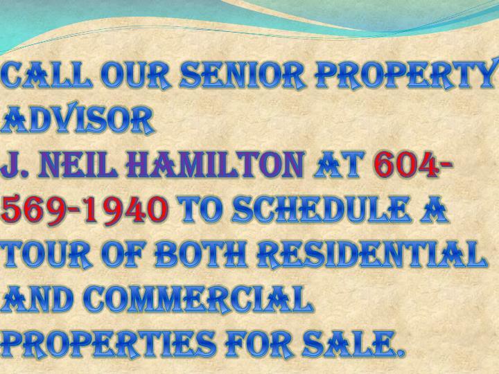 Call our senior property advisor