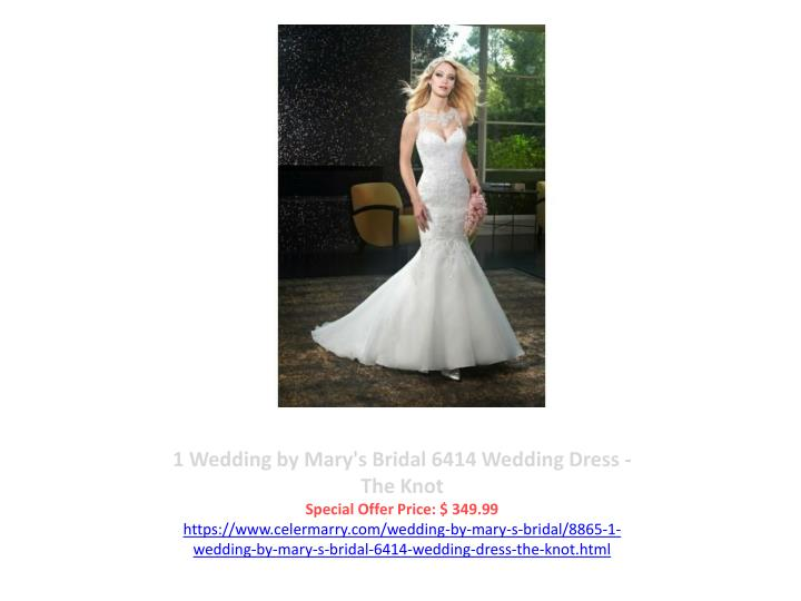 1 Wedding by Mary's Bridal 6414 Wedding Dress - The Knot