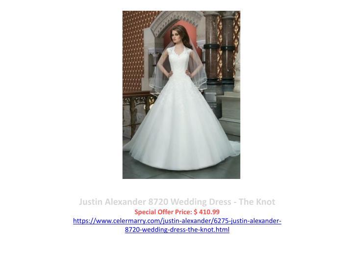 Justin Alexander 8720 Wedding Dress - The Knot