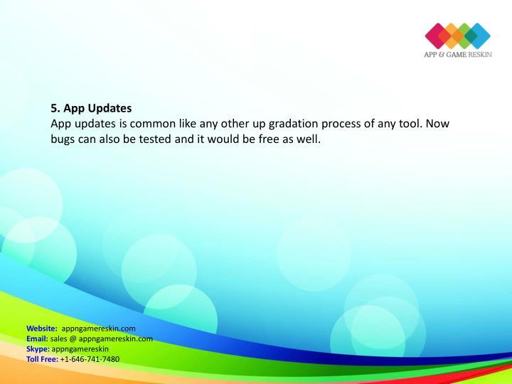 5. App Updates