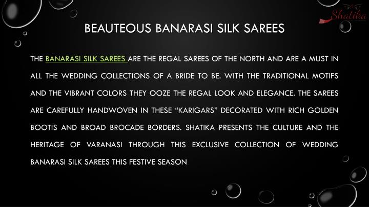 Beauteous banarasi silk sarees