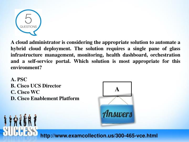 A cloud administrator is considering the appropriate solution to automate a hybrid cloud deployment. The solution requires a single pane of glass infrastructure management, monitoring, health dashboard, orchestration and a self-service portal. Which solution is most appropriate for this environment?