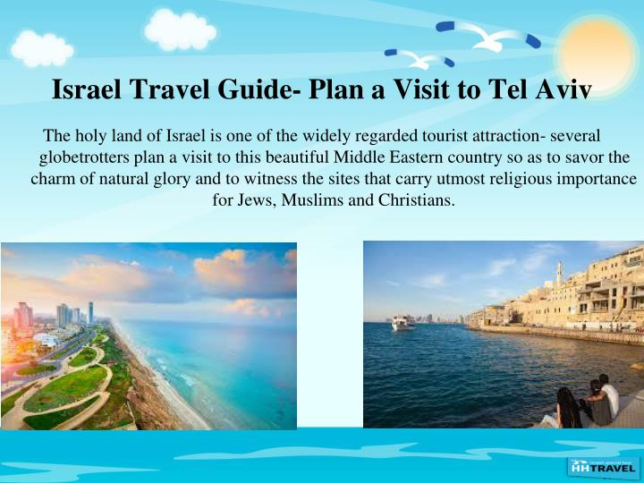 Israel Travel Guide- Plan a