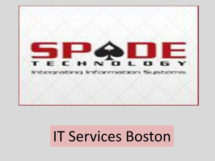 IT Services Boston