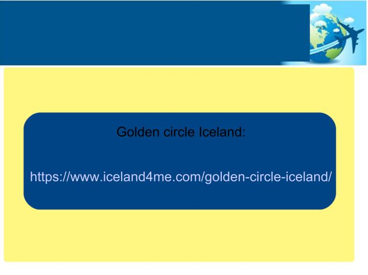 Golden circle Iceland: