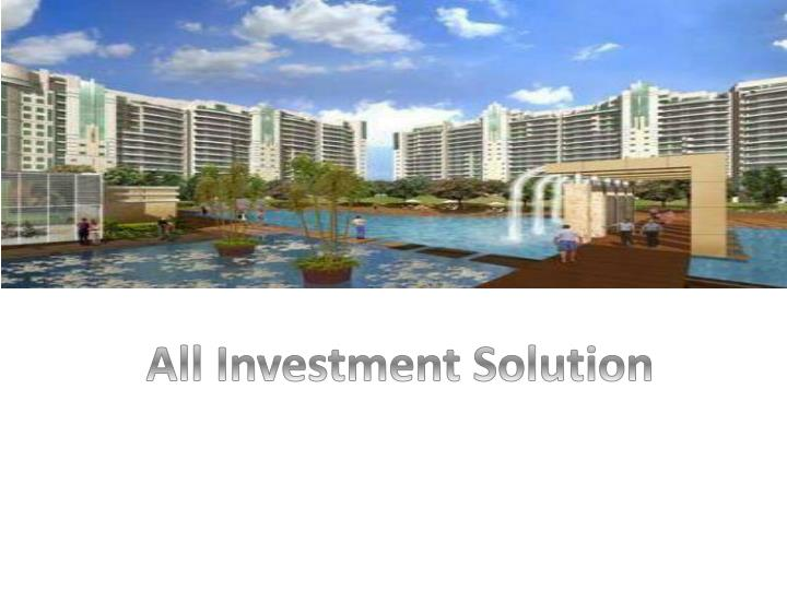 All Investment Solution