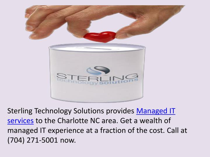 Sterling Technology Solutions provides