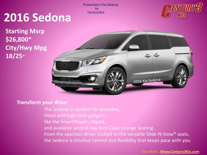 Kia sedona for sale pittsburgh