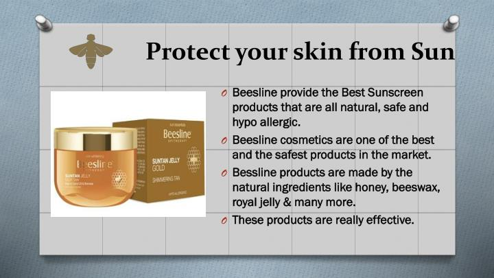 Protect your skin from Sun