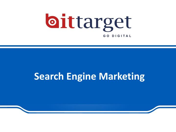 Search engine marketing