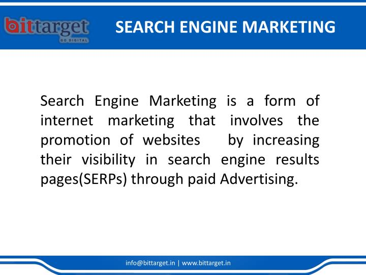 Search engine marketing1