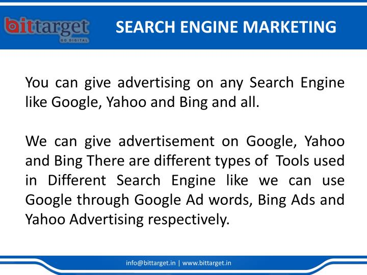 Search engine marketing2