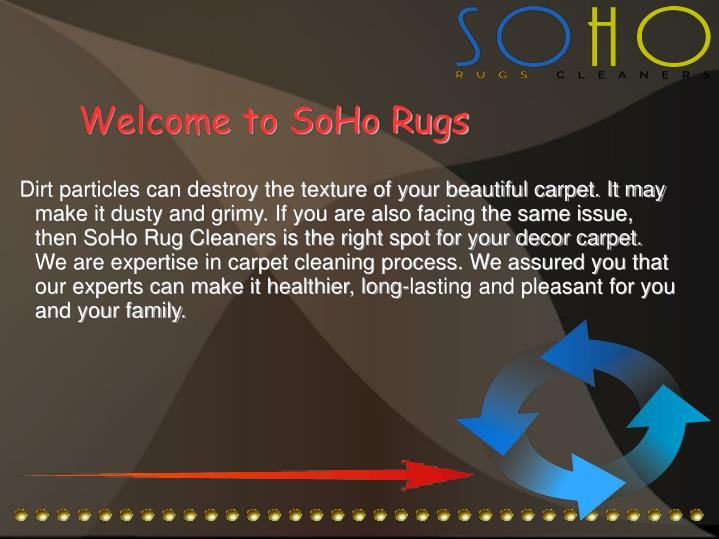 Welcome to SoHo Rugs