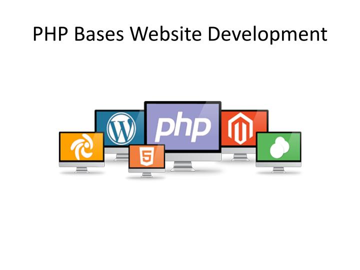 Php bases website development
