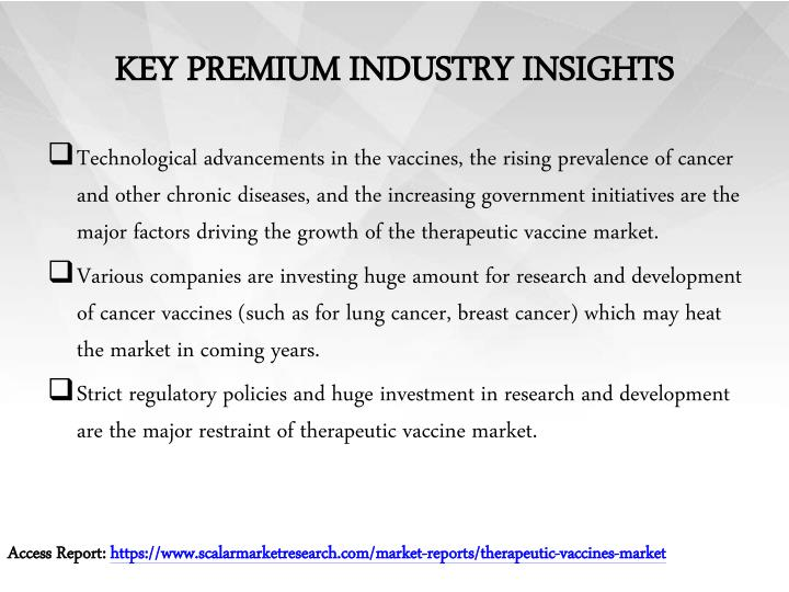 KEY PREMIUM INDUSTRY INSIGHTS
