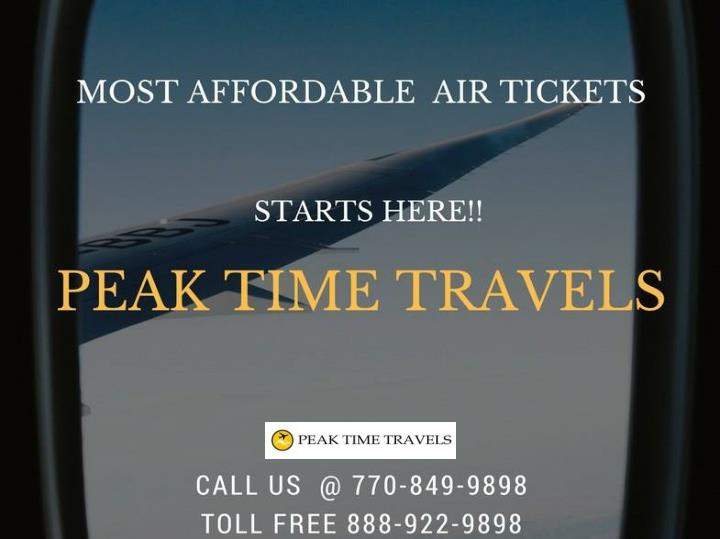 Enjoy great airfare deals at peak time travels