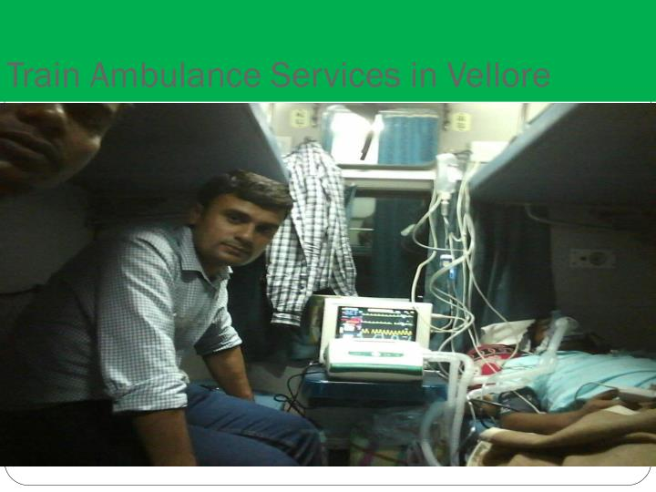 Train Ambulance Services in Vellore