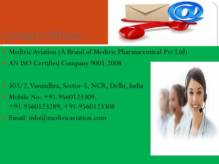 Contact Offices:-