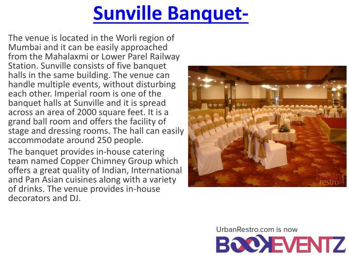 Sunville Banquet-