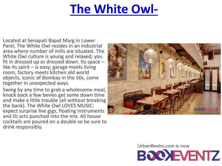 The White Owl-