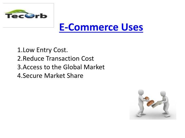 E-Commerce Uses
