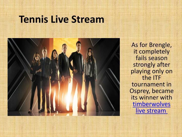 Tennis Live Stream