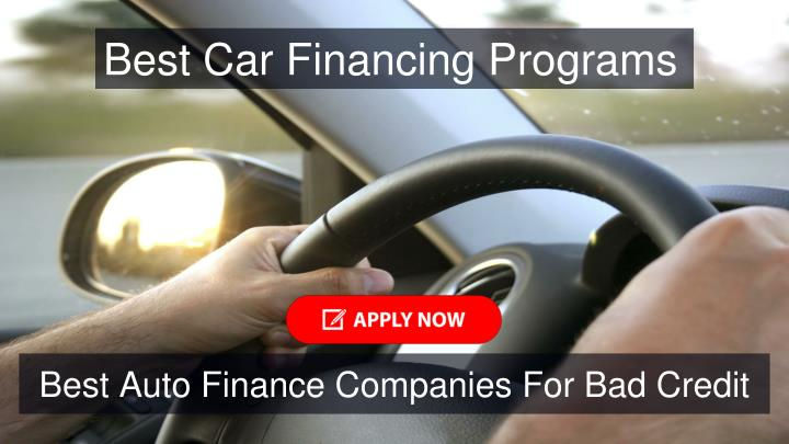 Best Car Financing Programs