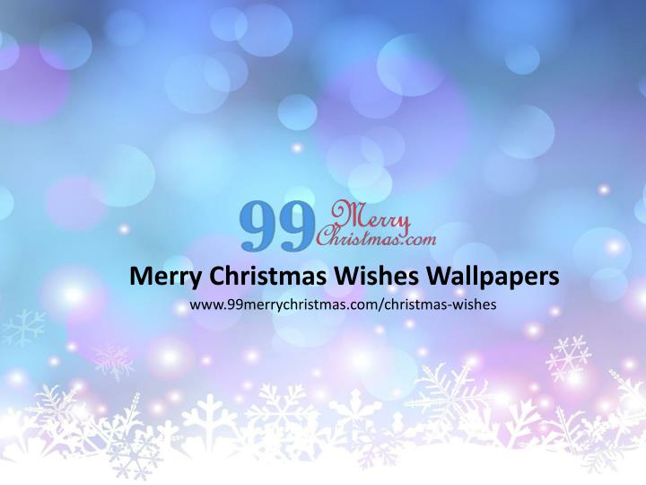 Merry Christmas Wishes Wallpapers