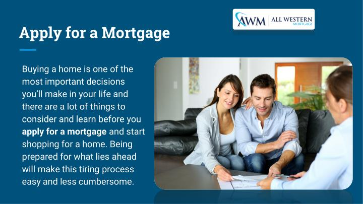 Apply for a Mortgage