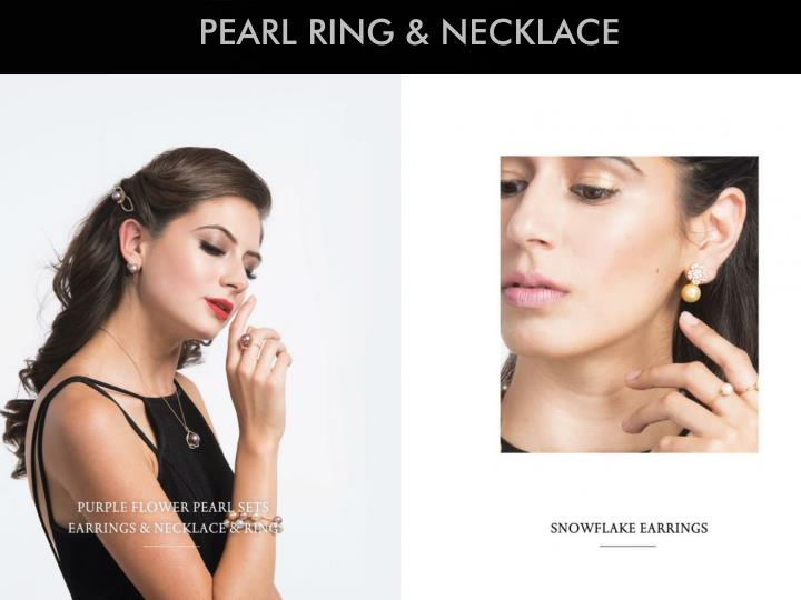 PEARL RING & NECKLACE