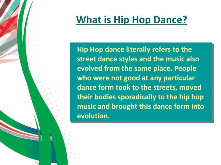 What is Hip Hop Dance?