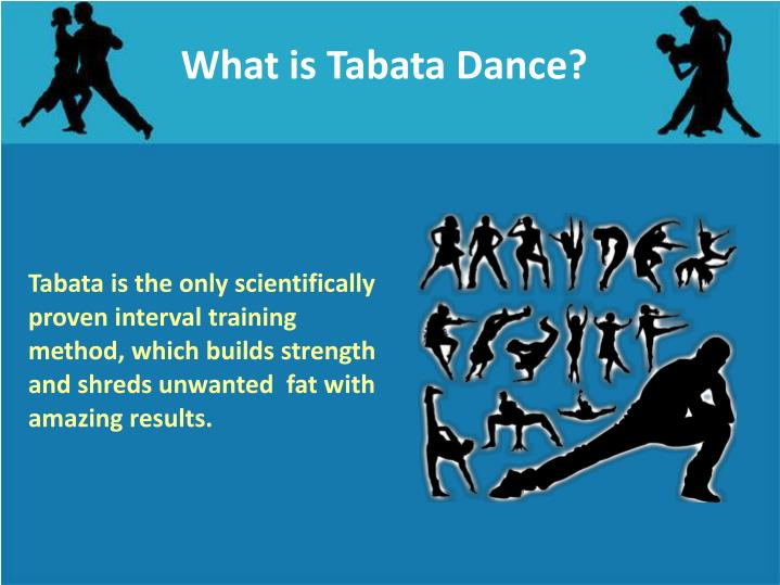 What is Tabata Dance?
