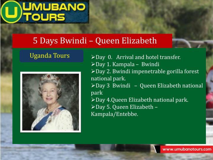 5 Days Bwindi