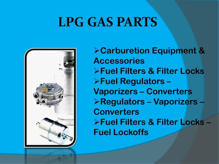 LPG GAS PARTS