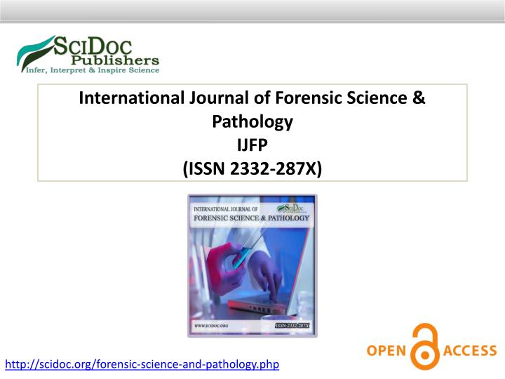 International Journal of Forensic Science & Pathology