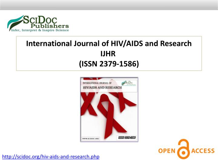 International Journal of HIV/AIDS and Research IJHR