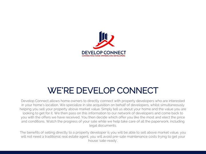 We re develop connect