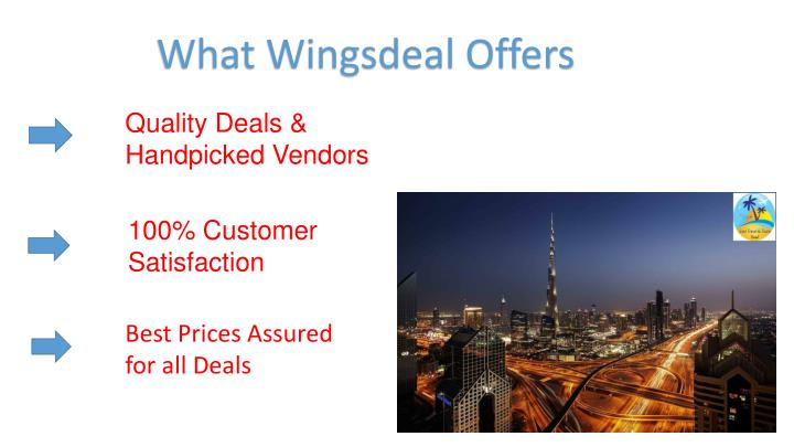 What Wingsdeal Offers