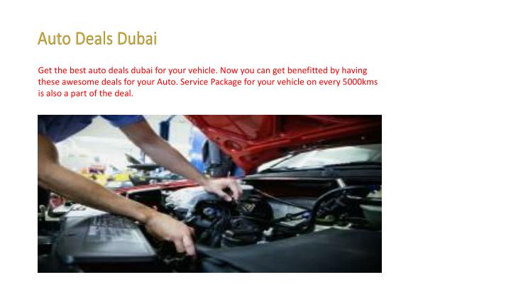 Auto Deals Dubai
