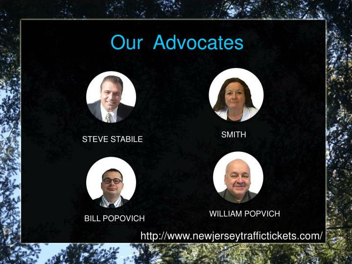 Our  Advocates