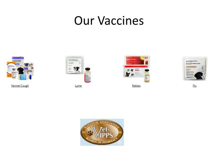 Our Vaccines
