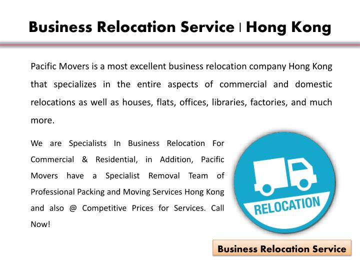 Business Relocation Service | Hong Kong