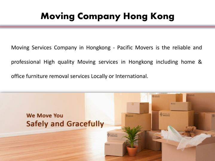 Moving Company Hong Kong