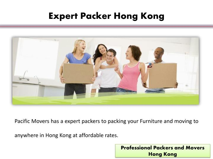 Expert Packer Hong Kong