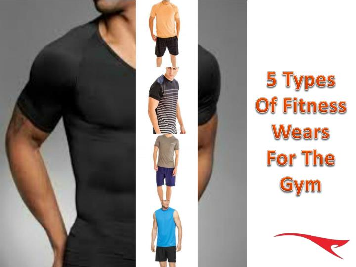 5 types of fitness wears for the gym