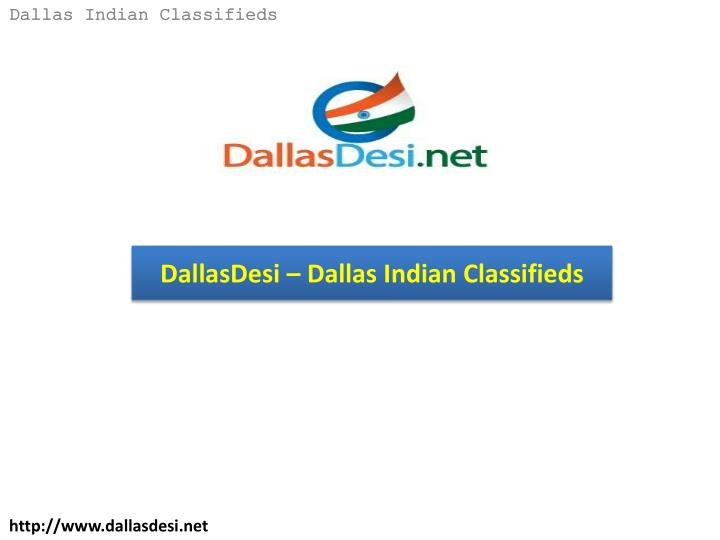 Dallasdesi dallas indian classifieds